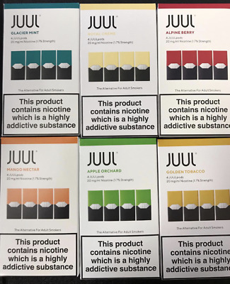 Juul Vape Pods £12.99* All Flavours 20mg/ml