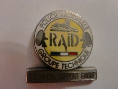 Pin's  Police Nationale  /  Raid    /  Superbe