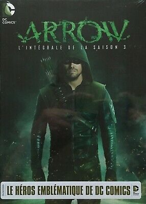ARROW - L'INTEGRALE DE LA SAISON 3 (NEUF SOUS CELLO COFFRET 3 DVD's)