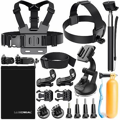GoPro Hero 7 Accessories Kit Also fits Hero 6 5 4 3 2 1 AKASO EK7000 Apeman