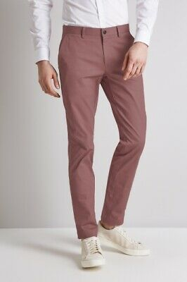 """TED BAKER /""""CHAADE/"""" NAVY BLUE CLASSIC FIT CHINO TROUSERS BNWT UK 30 R  RRP £85"""