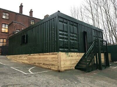 40ft x 16ft shipping container modular - North Wales