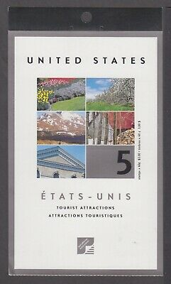 CANADA BOOKLET BK243a 5 x 60c TOURIST ATTRACTIONS, GLUED FLAP