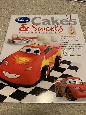 Disney Cakes & Sweets Magazine Issue 3 (MAG ONLY)