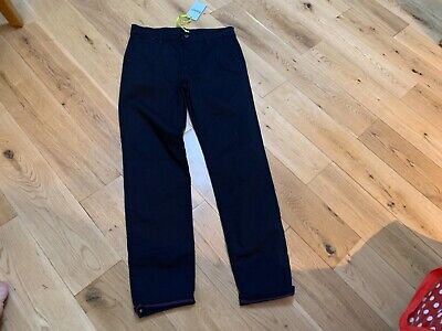 Ted Baker boys navy chino trousers age 12