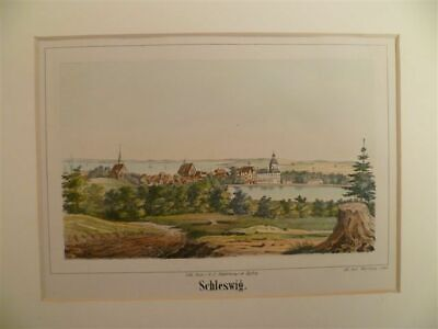 Schleswig - Lithographie