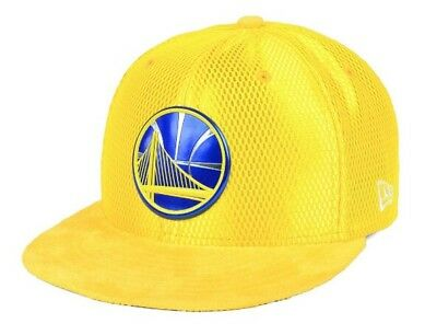 huge discount 8c809 f4d98 Golden State Warriors New Era Rev On-Court Coll. 59Fifty Fitted Hat! Size