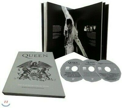 Queen + Adam Lambert - Platinum Collection (Korea Magazine Edition) [New CD] Pho