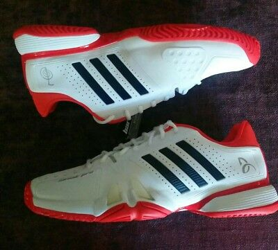info for 2f8d0 90088 Adidas CG3081 Novak Pro Running Men Tennis Shoes Sneakers White Red 12.5