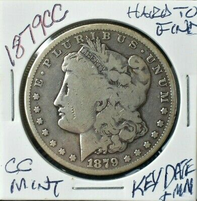1879-CC Morgan Dollar~Tough Date~Carson City Minted~Fantastic Value!!