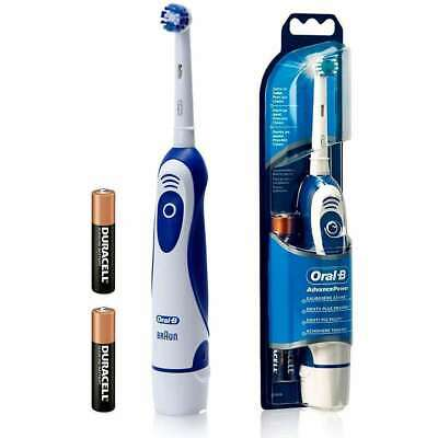 Braun Oral B 400 Advance Power Electric Toothbrush DB4010 Batteries + Batteries