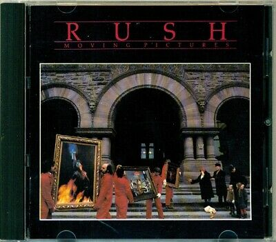 "Rush - Moving Pictures  RARE ORIG W. Germany "" Atomic Logo "" Mercury CD (Mint!)"