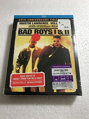 Bad Boys I / II 20th Anniversary Collection Blu-Ray 2-Discs Box Set (1 & 2 2015)