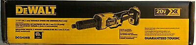 "Dewalt Dcg426B 20V Max 1-1/2"" Variable Speed Cordless Die Grinder Tool Only"