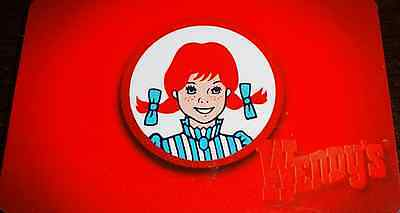 Wendy's Classic WENDY collectible gift card no cash value