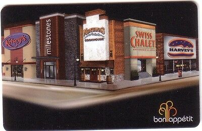 Bon Appetit Dining Gift Card Swiss Chalet Harvey's Kelseys Montanas