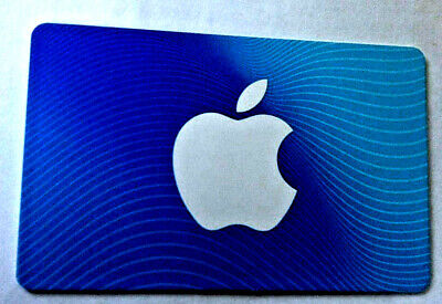 Apple iTunes MINT GIFT CARD FROM CANADA BILINGUAL NO VALUE RECHARGEABLE
