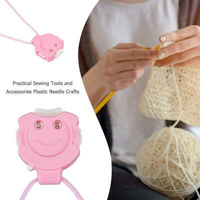 Needle Crafts Crochet Knitting Row Counter Stitch Tally Pendant