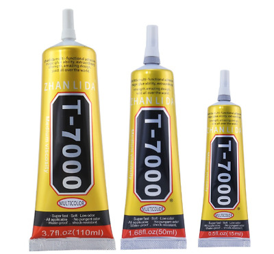 T7000 Contact Adhesive Glue For Craft Mobile Phonet Laptop 15/50ML T-7000 Repair