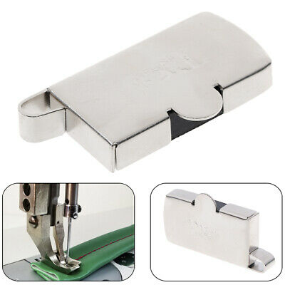Universal magnet seam guide for domestic industrial sewing machine presser foot'