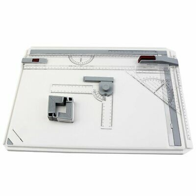 A3 Drawing Board Table with Parallel Motion Adjustable Angle Art Drawing Tools T