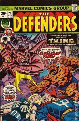 Defenders (1st Series) #20 1975 VG Stock Image Low Grade