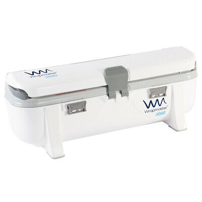 """Wrapmaster 3000 12"""" Dispenser for Cling Film Catering Foil & Baking Parchment"""