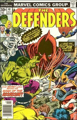 Defenders (1st Series) #40 1976 VG Stock Image Low Grade