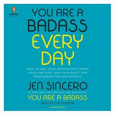 You Are a Badass Every Day: How to Keep Your Motivation Strong, Y 97819 CD-AUDIO
