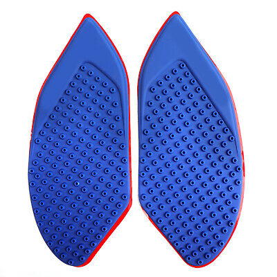 Tank Traction Side Pad Fuel Gas Knee Grip Blue For BMW S1000RR 10-13 HP4 2014 A0
