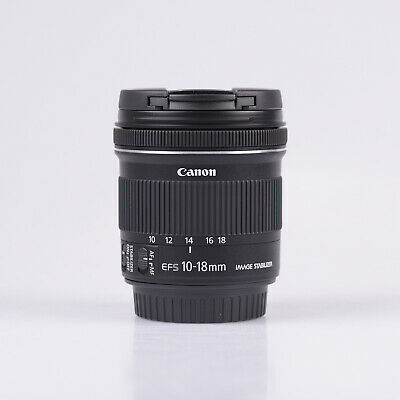 Canon EF-S 10-18mm f/4.5-5.6 IS STM Objetivo