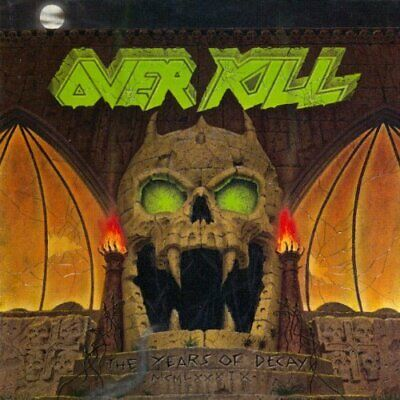 Overkill-Years Of Decay (Uk Import) Cd New