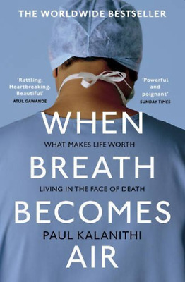 Kalanithi,Paul-When Breath Becomes Air (Uk Import) Book New
