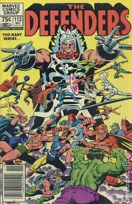 Defenders (1st Series) Canadian Price Variant #113 1982 VG+ 4.5 Stock Image