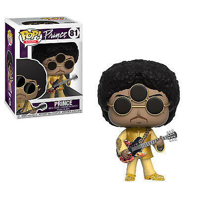 Funko Pop Rocks: Prince-3rd Eye Girl Collectible Figure, Multicolor