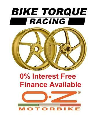 Gold OZ Piega Superlight Alloy Wheels Ducati 1199 / 1299 Panigale 12-18