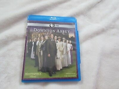 Masterpiece:Downton Abbey Season 1 Blu-ray Disc, 2-Disc Set Original UK Edition