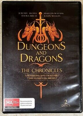 Dungeons And Dragons - The Chronicles (2 Disc) DVD in GREAT condition (Region 4)