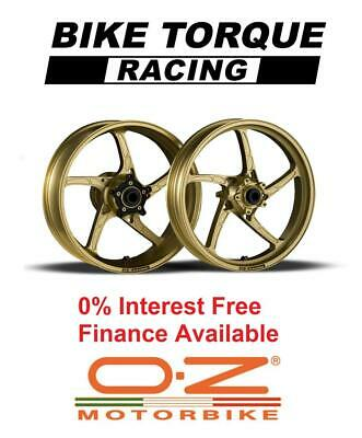 Gold OZ Piega Alloy Wheels Ducati 888 Str / SP5 (20mm Frt/17mm Rear Axle) 93-94