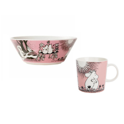 Love Moomin Bowl & Mug set by Arabia