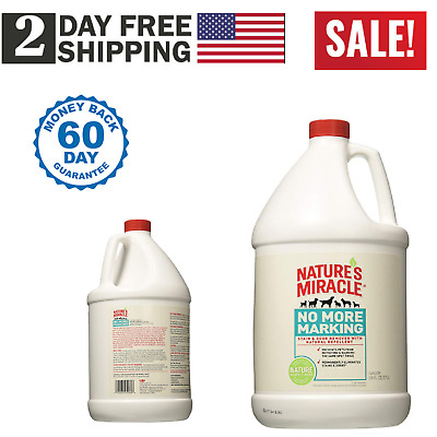 Natures Miracle No More Marking Stain & Odor Remover Gallon (P-5560) Pet Nature