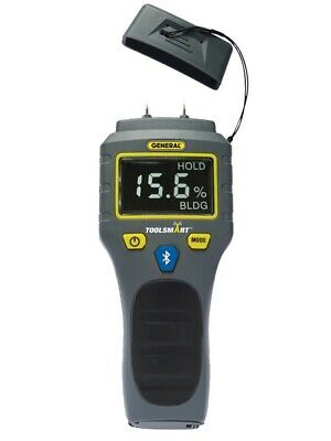 NEW General Tools TS06 Bluetooth Connected Digital Moisture Meter TOOL 7151103