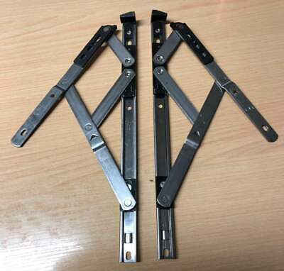 Fire Egress Escape Easy Clean Window Hinges UPVC Double Glazing Friction Stays