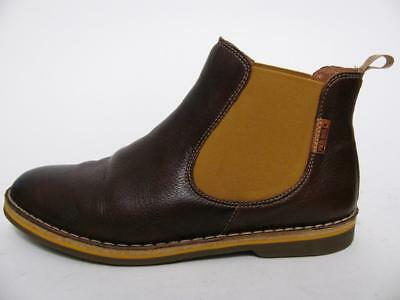 Pikolinos Boots Leather Brown Slip On Chelsea Comfort 'blundstone' Shoes~38