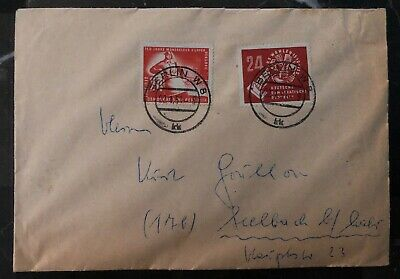 1951 East Berlin Germany DDR Cover To Seelbach B
