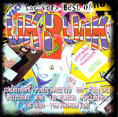 The Very Best of UK Punk, Various Artists, Good Limited Edition, Import, Box set