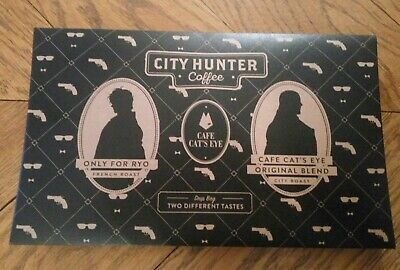 City Hunter Nicky Larson Limited Goods Coffee Shinjuku Private Eyes. Cat's eyes