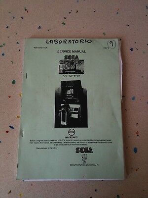 SEGA The House of the Dead eluxe Type Original Service Manual