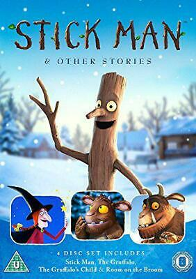 Stick Man & Other Stories [DVD] [2017], New, DVD, FREE & Fast Delivery