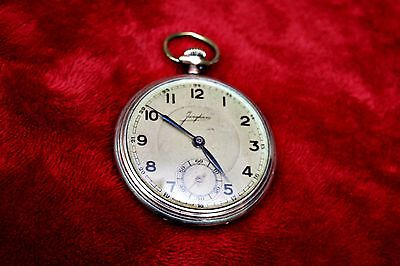 ANTIQUE EARLY 1900's JUNGHANS POCKET WATCH WORKING